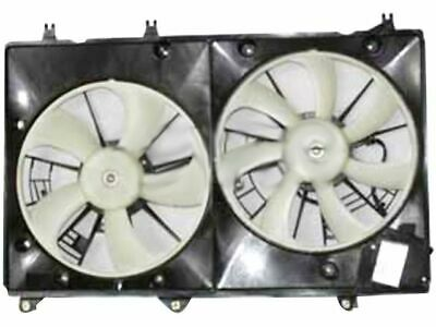 APDI Dual Radiator /& Condenser Fan Assembly for 2001-2007 Toyota Highlander wp