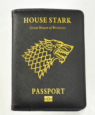 Popular Game of Thrones House Stark Passport Cover PU Travel FREE SHIPING