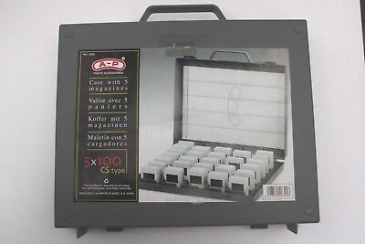 A-P Slide Storage Box For Cs And Cardboard Type Mounts Holds 500
