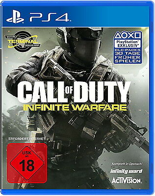 Call Of Duty Infinite Warfare Sony PlayStation 4 PS4 Action Game Spiel Dt Ware N