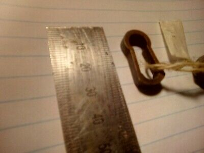 escutcheon, key hole, Art Deco, copper, vintage (HE11)