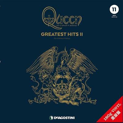 PRE ORDER MAR 26TH Queen 2LP Record Collection Greatest HIts II Deagostini Japan