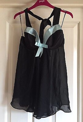 Clothing, Shoes & Accessories Bnwt Ann Summers Baroque Flock Chemise Size 8 Women's Clothing