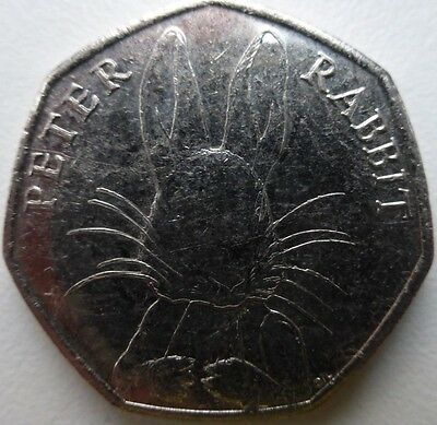 2016 ~ 50p COIN ~ BEATRIX POTTER ~ PETER RABBIT ~ CIRCULATED