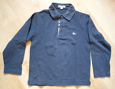 1316208c132 Polo BURBERRY manches longues - Taille 8 ans