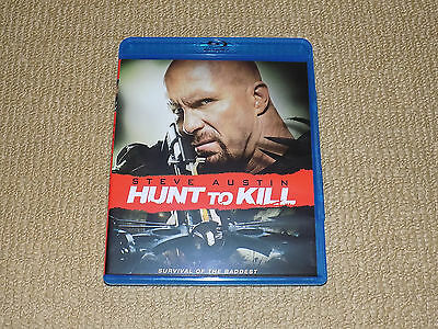 Hunt To Kill, Blu-Ray, Stone Cold Steve Austin, Excellent Condition