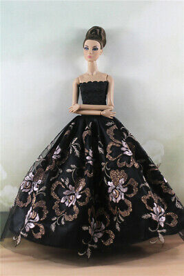 Fashion Princess Party Dress/Evening Clothes/Gown For Barbie Doll Z04