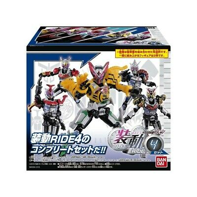 BANDAI Kamen Masked Rider Zi-O So-Do RIDE 4 Full set of 8 from JAPAN