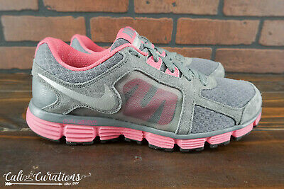 d44d2ed744129 VGC! NIKE DUAL Fusion ST 2 Womens Size 7.5 Running Shoes Gray/Pink