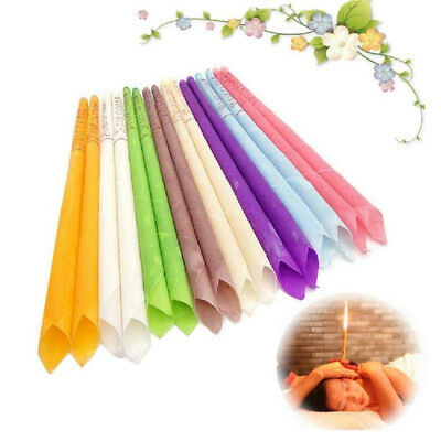20Pcs/set Ear Cleaner Wax Removal Candles Treatment Care Healthy Hollow Candles