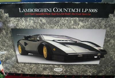 Testors Lamborghini Countach Lp 500s Formula One 1 12 Scale Model