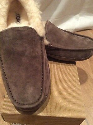 fc91867d829 UGG AUSTRALIA ASCOT Moccasin Slippers Size 8 New - $60.00 | PicClick