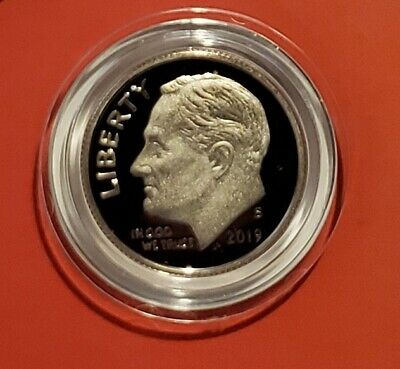 2019 S Clad Proof Roosevelt Dime Gem Proof  IN STOCK
