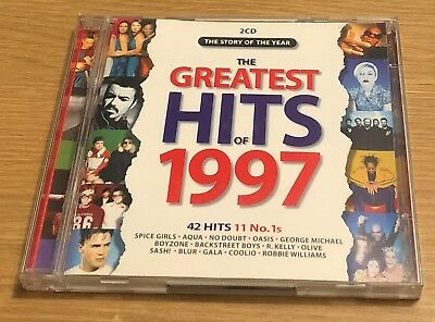 THE GREATEST HITS OF 1997 CD Album (Various Artists)