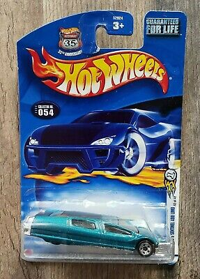 HOT WHEELS 2002 SYD MEAD/'S SENTINEL 400 LIMO #054 FACTORY SEALED