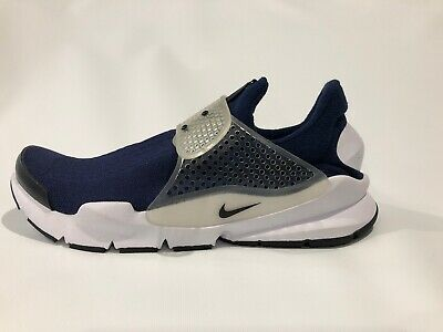 new products b4a06 6f211 NEW NIKE 819686 400 Sock Dart Running Shoes Midnight Navy Men's Size 10