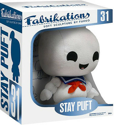 Ghostbusters Stay Puft Mini Peluche Parlante Plush Toy Bagclip