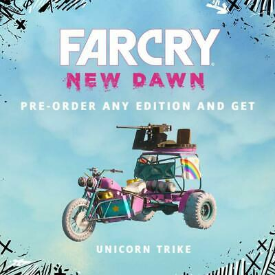 Unicorn Trike FAR CRY NEW DAWN Pre-Order DLC Code ++ Multiplatform (PC/PS4/XBOX)