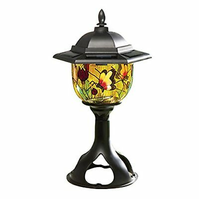 Tech Tools Tiffany Style Solar Patio and Garden Light PI-5089