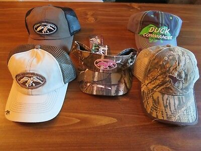 4bfd8cf23 5 NEW DUCK HUNTING HATS / CAPS; DUCK COMMANDER. etc. Sports.