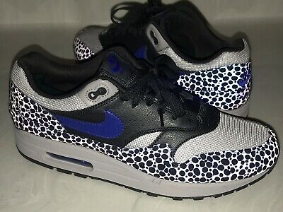 low priced fd2c2 c70bd Nike Air Max 1 SE Hyper Blue 3M Safari Mens 11 BRS Parra Anniversary  Wotherspoon