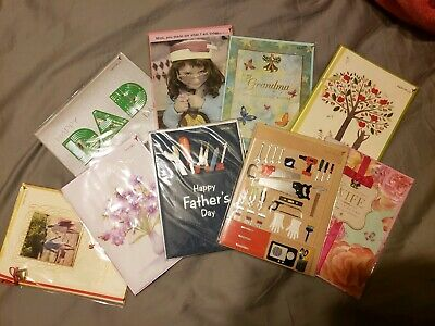 92ef157c199b72 Lot of Papyrus mothers day fathers day greeting cards