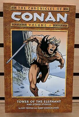 """Chronicles of Conan Vol 1 TP TPB """"Tower of the Elephant"""" - Dark Horse New Unread"""