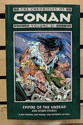 """Chronicles of Conan Vol 31 TP TPB """"Empire of the Undead"""" Dark Horse 1st Print"""