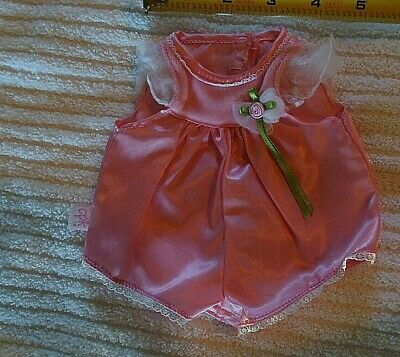 Cabbage Patch Kid CPK Pink Satin Easter outfit clothes 12-13 in doll?