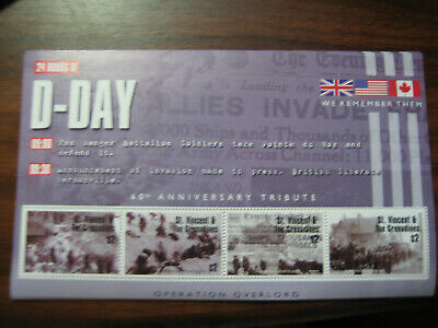 St.vincent & The Grenadines  2005 60Th Anniversary Of D-Day:operation Overlord S