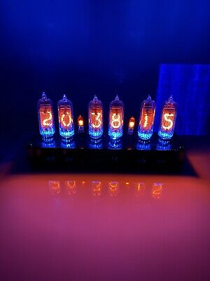 Nixie Clock - Basic Kit (inc tubes) FULLY ASSEMBLED
