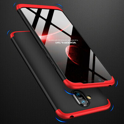 360° Full Protection Cover Shockproof Hard PC Case+Tempered Glass For Nokia 8.1