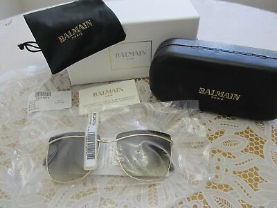 a40575ef25 Authentic Balmain Clubmaster 56mm Metal Frame Sunglasses Made in France