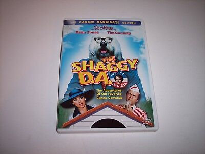 CLASSIC DISNEY DVD THE SHAGGY DOG D.A. Movie w/ Dean Jones Tim Conway Rated G