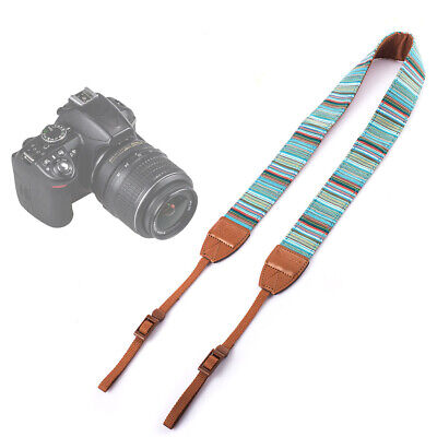 TARION Camera Shoulder Neck Strap Vintage Belt for All DSLR Camera Nikon #485