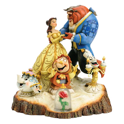 "Disney Tradition Statuina  "" Tale As Old As Time "" 4031487"