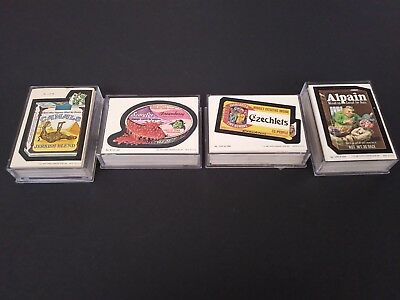 1979-80 Topps Wacky Packages Complete Series Set 1-4 264 Total Cards
