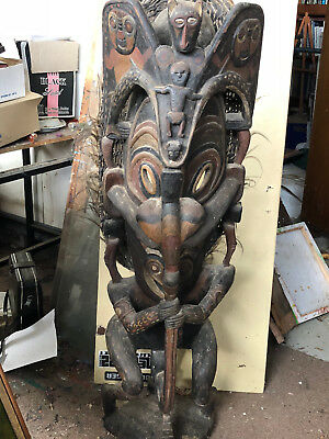 Large Tribal statue carving sculpture