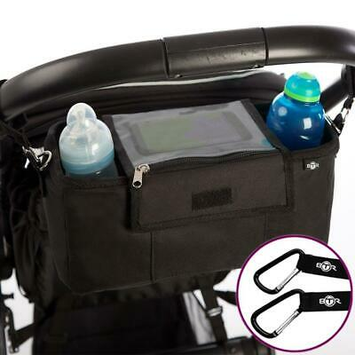 Pram Pushchair Organiser Bag Carry Pouch Waterproof Smartphone Cover Protector