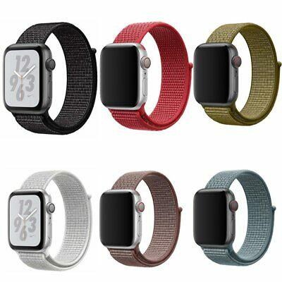 UK 38mm 42mm 40mm 44mm band for apple watch series 1 2 3 woven nylon band strap