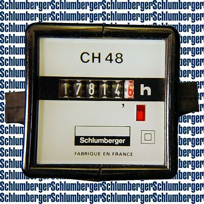 compteur horaire / hour counter SCHLUMBERGER CH48