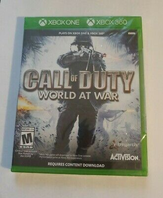 Call of Duty World War (Microsoft Xbox One, 2008)  BRAND NEW ACTIVISION  XB1 360