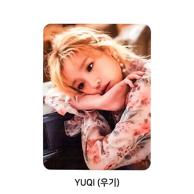 (G)I-DLE 2nd mini album 'I MADE' Official Photocard - YUQI