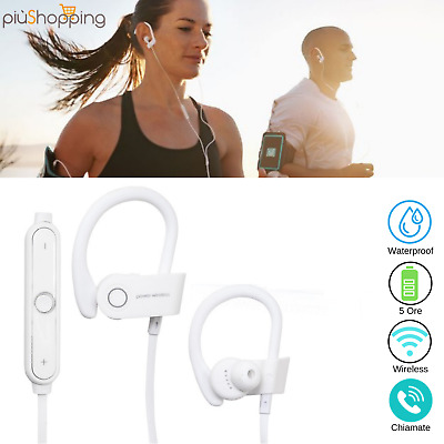 Auricolari Cuffie Bluetooth Sport Wireless 4.2 Senza Fili Iphone Samsung Huawei