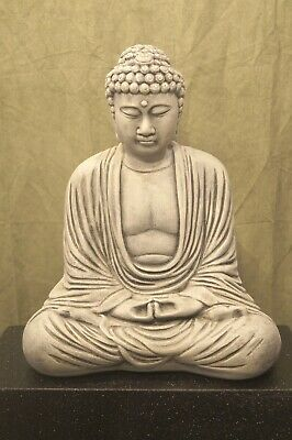 Tall Large Japanese Sitting Buddha Statue ID 60850 17 in