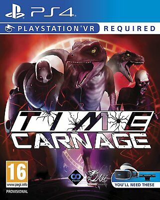 Time Carnage PS4 Game (PSVR Required)