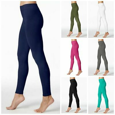 35f5b6f83cd14 HUE First Looks Women's Seamless Leggings U16948 CHOICE OF SIZE AND COLOR