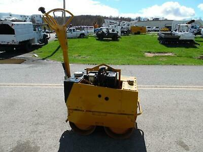 1999 Stone 65D Tandem Vibratory Smooth Drum Walk-Behind Roller