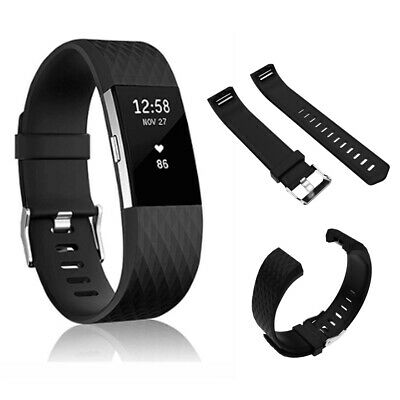 Fitbit Charge 2 Replacement Bracelet Watch Band Heart Rate Fitness Silicone USA