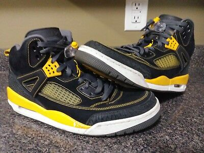 newest 6edc5 41825 Nike Air Jordan Spizike Black Gold University Spike Lee Mars 315371-030 SZ  13